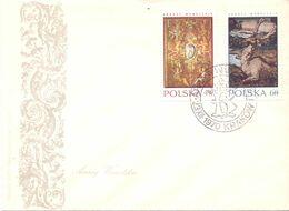 ARRASY WAWELSKIE KRAKOW  POLAND 1970 FDC   COVER   SPECIAL POSTMARK  (SETT200171) - FDC