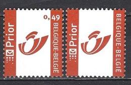 Cob 3228 +3274, Séries Timbres Personnalisées :Montimbre,Duostamp,Mediastamp ** - Persoonlijke Postzegels