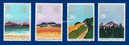 GREAT BRITAIN 1983  GEOGRAPHICAL REGIONS  U.M. S.G. 1211-1214    N.S.C. - Nuovi