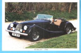 Oldtimer-Vintage Car-Morgan-Cabriolet-1964-Edit.Kiwanis-Lions Clubs Service-1998-Concours D'Elégance Automobile - Toerisme