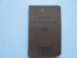 AGENDA ECCLESIASTIQUE 1942 - Librairie MIGNARD : Fonderie De Cloches - Orgues - Harmonium - Pianos (Nogent Le Rotrou) - Books, Magazines, Comics