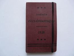 AGENDA ECCLESIASTIQUE 1938 (aucune Annotation) - Books, Magazines, Comics