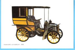 Oldtimer-Vintage Car-Vieille Voiture-Panhard Levasseur-1898-Ancêtre De L'automobile - PKW