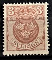 SWEDEN 1911 - MNG - Sc# 97 - 3o - Neufs