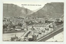 BOLZANO COLLA FUNICOLARE DEL VIRGOLO 1926 VIAGGIATA  FP - Bolzano (Bozen)
