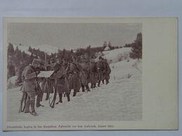 Ukraine 488 Karpaty Carpathian 1915 Mountain Legion Military Army Hora Legie Valecny Armada - Ukraine