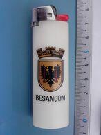 Briquet Publicitaire Usagé - Bic - Besançon - Autres