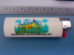 Briquet Publicitaire Usagé - Bic - Château De Rambouillet - Autres