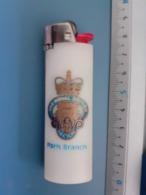 Briquet Publicitaire Usagé - Bic - The Royal British Legion Paris Branch - Autres