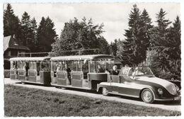 Autos Voitures Automobiles Cars - FREUDENSTADT - Petit Train Volkswagen VW Coccinelle Käfer Beetle ? Ou Porsche ? - Toerisme