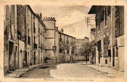 34. CPA. PAULHAN -  Cours National - La Poste -  1940. Scan Du Verso  - - Paulhan