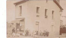 Clermont-Ferrand. Carte-Photo De Maison Avec Commerce. Angle Rue Des Salins Et Rue Du Mont Mouchet. - Sin Clasificación