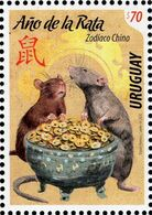 Uruguay - 2020 - Chinese Zodiac - Lunar New Year Of The Rat - Mint Stamp - Uruguay