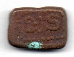 INDONESIA - NETHERLANDS EAST INDIES - BATAVIAN REPUBLIC, 2 Stuiver, Copper Bonk, Year 1804, KM #211 - Indonesien