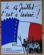 72 : Le 14 Juillet C'est à Lavaré - (n°18548) - Autres Communes