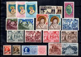 Vatican Belle Collection De Bonnes Valeurs Neufs **/* 1929/1955. B/TB. A Saisir! - Collections