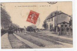 Ain - Saint-Trivier-de-Courtes - La Gare - Autres Communes