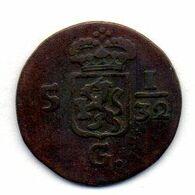 INDONESIA - NETHERLANDS EAST INDIES - HOLLAND - BATAVIAN REPUBLIC, 1/2 Duit (5 1/32 Gulden), Copper, Year 1808, KM #75 - Indonésie