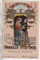 VARALLO (PIEMONTE) - ESPOSIZIONE VALSESIANA 1905(ETAT) - Andere Städte