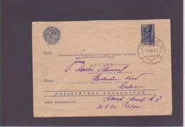 Lettre URSS 1941 - Cartas