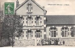 51 .n° 109910 . Orquigny . L Ecole . Enfants . - France