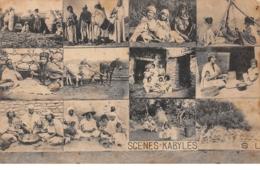 Algérie - N°66225 - Scènes - Kabyles - Multi-vues - Algérie