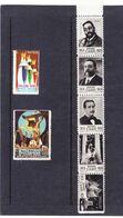 5 VIÑETAS RUPERTO CHAPI (VILLENA) 1951 NUEVAS SERIE COMPLETA - Y 1 ALCOY Y 1 MALAGA - VER FOTO - Sin Clasificación