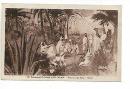 Algérie Pensionnat St Joseph D' EL BIAR Alger Peinture Du Patio Oasis    ....G - Algiers