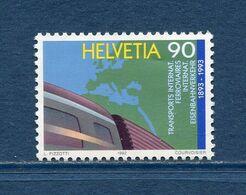 Suisse - YT N° 1416 - Neuf Sans Charnière - 1992 - Ongebruikt