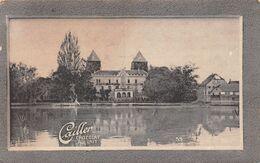 Château De Gottlieben Fondé En 1250 Thurgovie Thurgau  - Cailler 53 - Chocolat Au Lait - Texte Au Dos  (~10 X 6 Cm) - Nestlé