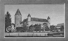 Château De Bulle  1220 Bonifacius 1537 Fribourg - Gruyère  - Cailler 25 - Chocolat Au Lait - Texte Au Dos  (~10 X 6 Cm) - Nestlé