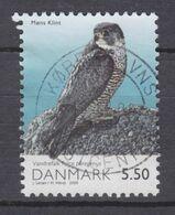 Denmark 2009 Mi. 1525  5.50 Kr Møns Klint National Park Bird Falcon Deluxe Cancel !! - Danimarca