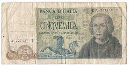 Italy 5000 Lire 1973 P-102 /016B/ - 5000 Lire