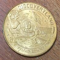 77 DISNEYLAND PARIS N°16 MICKEY DISCOVERYLAND BUZZ LIGHTYEAR MÉDAILLE MONNAIE DE PARIS 2010 JETON MEDALS COINS TOKENS - Monnaie De Paris