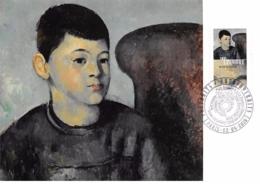 FRANCE.CARTE MAXIMUM. N°207691. 2/04/2016. Cachet Paris. Paul Cézanne. Portrait Du Fils De L'artiste - Cartoline Maximum