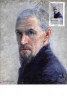 FRANCE.CARTE MAXIMUM. N°207697. 2/04/2016. Cachet Belfort. Gustave Caillebotte. Portrait De L'artiste - Cartoline Maximum