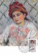 FRANCE.CARTE MAXIMUM. N°207700. 2/04/2016. Cachet Paris. Claude Monnet. Portrait De Blanche Hoschedé Enfant - Cartoline Maximum