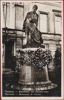 Torhout Tourhout  Fotokaart Standbeeld Der Gesneuvelden WW1 WWI World War 1 Monument Memorial (In Goede Staat) - Torhout