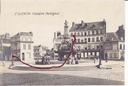 ( 02 ) - Saint Quentin Fontaine Paraingault  Photo Allemande GRANDES DIMENSIONS.1° Guerre - Saint Quentin