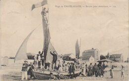1905   Chatelaillon   Barque Pour Excursion   -  Vers Dom Le Mesnil  (  Ardennes ) - Châtelaillon-Plage