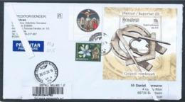 Freemasonry Symbols. Registered Letter From Romania To France. Freimaurersymbole. Symboles De La Franc-maçonnerie. - Massoneria