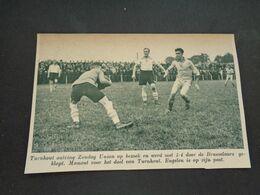 """Origineel Knipsel ( 6649 ) Uit Tijdschrift """"  De Stad """"  1936 :  Voetbal  Football  Turnhout  - Union - Non Classés"""
