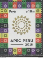 PERU, 2016, MNH, APEC SUMMIT, 1v - Postzegels
