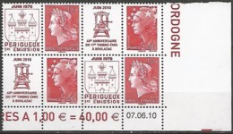 FRANCE  / COIN DATE N° 4461-4462 NEUF Du 07-06-2010 - 2010-....