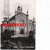 ZIBELLO - CHIESA PARROCCHIALE F/GRANDE  VIAGGIATA  1958 - Parma