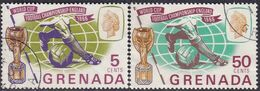 GRENADA 1966 SG 246-47 Compl.set Used World Cup Football - Grenada (...-1974)