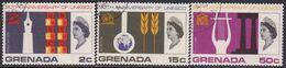 GRENADA 1966 SG 250-52 Compl.set Used UNESCO - Grenada (...-1974)