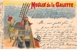 Illustrateur - N°68337 - Moulin De La Galette - Otros Ilustradores