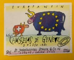 15844 - Europa Wein Chasselas De Genève 1991 - Other