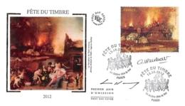 FRANCE. FDC. N°208207. 13/10/2012. Cachet Paris. Fête Du Timbre.  Signé - 2010-....